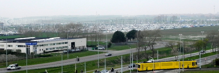 From Nieuwpoort the sea is not far away