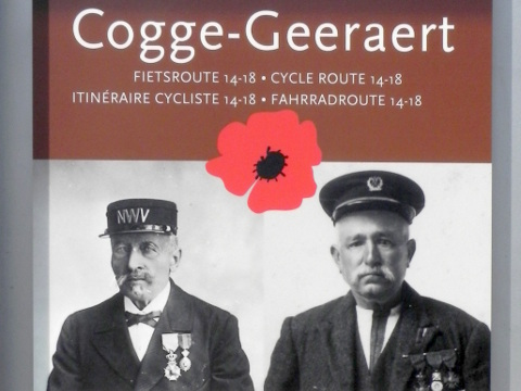There is a Cogge-Geeraert cycle route