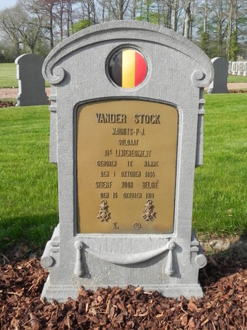 Soldaat Maurits Van de Stock