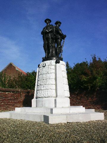 The 37th Division Monument at Monchy le Preux