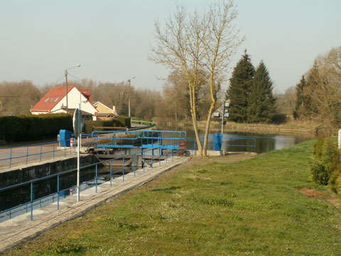 The Scarpe Canal at Fampoux