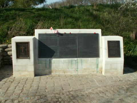 Memorial to John McCrae