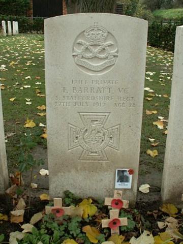 Thomas Barratt VC