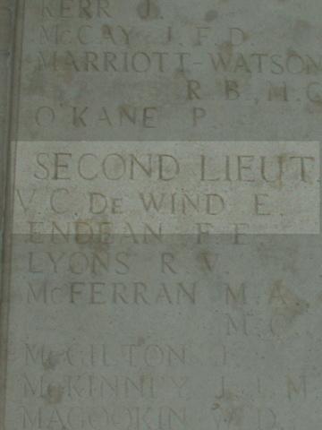 Edmund de Wind VC
