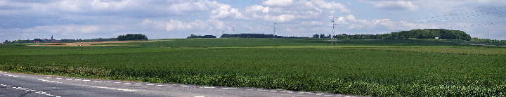 Panorama of Monchy le Preux and Infantry Hill