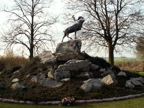 The Newfoundland Regiment Monument at Masnières