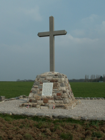 1st Canadian Division cross at Thelus