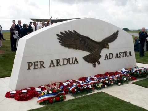 Air Services Memorial at Saint Omer Aerodrome