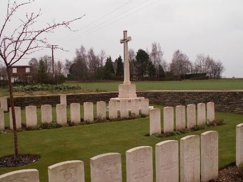 Ribécourt Railway Cemetery