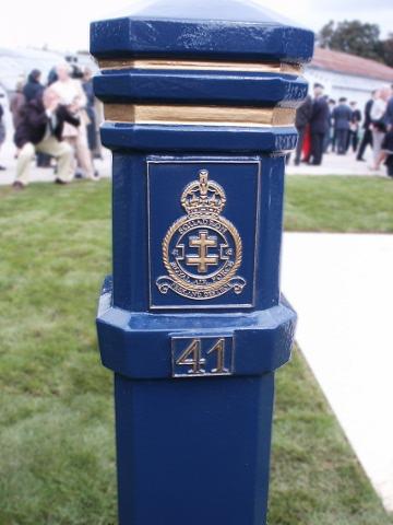 41 Squadron pillar