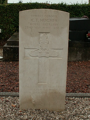 Gunner Cyril Hughes