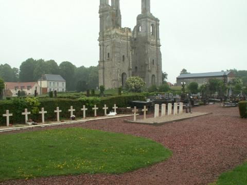 Mont St Eloi Communal Cemetery
