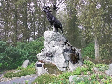 The Royal Newfoundland Regiment Courtrai Memorial