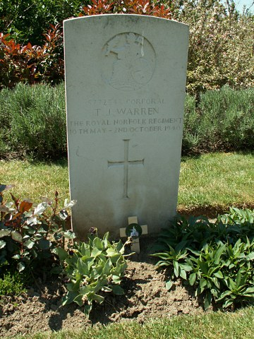 Corporal Thomas Warren