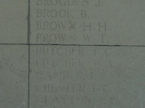 Private Frederick Butcher