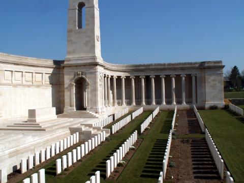Vis en Artois Memorial to the Missing
