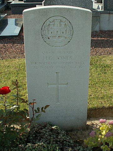 Private Hayden Jones