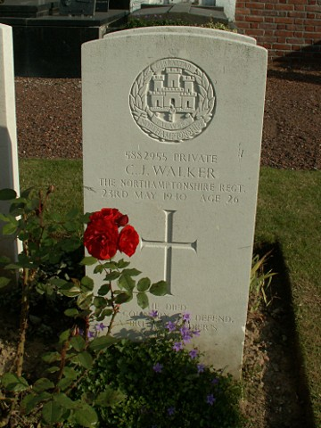 Private Cyril Walker
