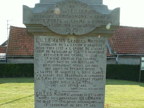 Commandant Georges Lillemann