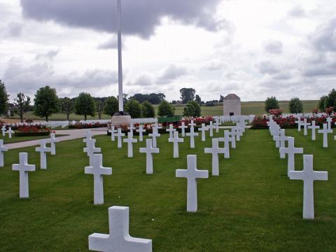 Somme American Cemetery, Bony