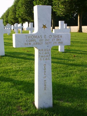 Corporal Thomas O'Shea